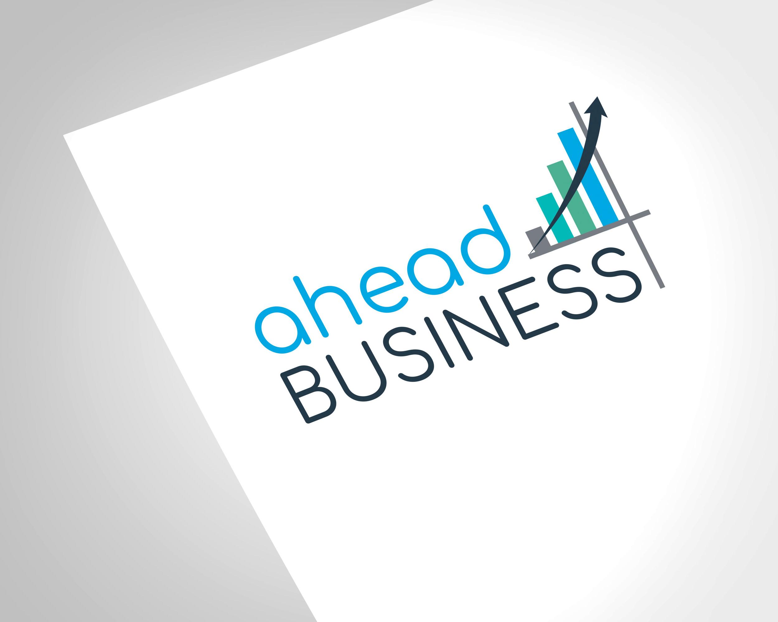 Ahead4business Logo Design