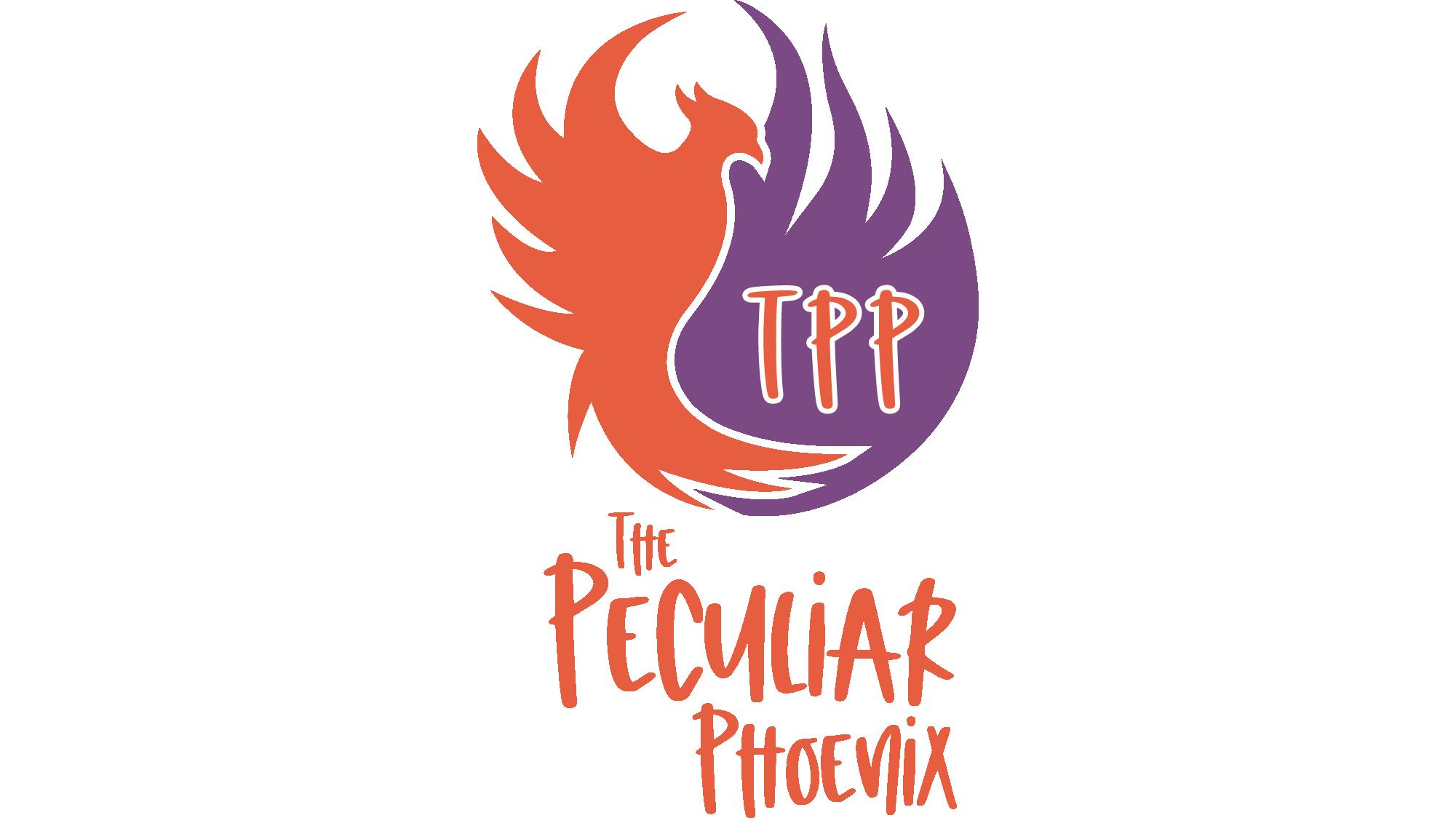 The Peculiar Phoenix Logo