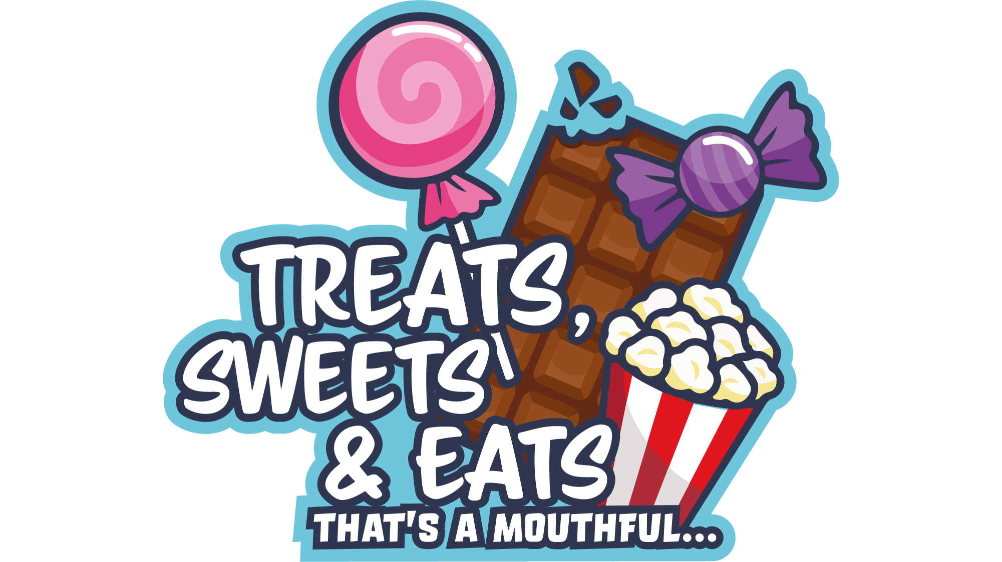 Treats, Sweets & Eats Logo